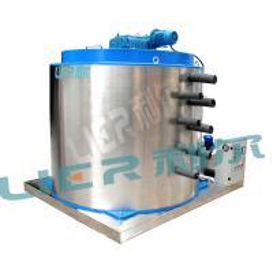 Refrigerating Equipment Flake Ice Evaporator , Ice Maker Drum High Capacity Manufactures