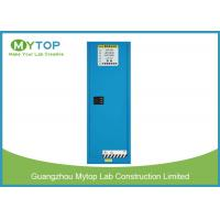 Safety Industrial Blue Flammable Storage Cabinet For Hospital Laboratory 22 Gal Manufactures