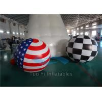 Celebration 2m , 2.5m , 3m Printed Helium Balloons Lead Free Fire Resistant Manufactures