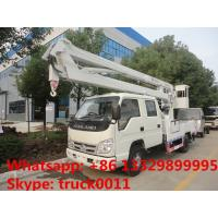 Forland RHD double rows 11m high altitude operation truck, aerial working platform truck Manufactures