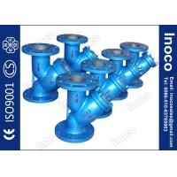BOCIN DN80 Oil Line Threaded Type y Strainer Filter , Bolted Or Threaded Covers Manufactures