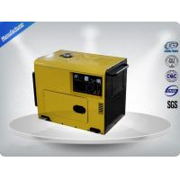 Gasoline Engine Generator Set 7.0-7.5 kw / kva , Portable Genset For Rent Manufactures