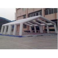 Outdoor Hexagon Air Inflatable Tent For Advertising Activities / Temporary Warehouse​ Manufactures