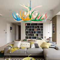 Buy cheap Multicolor resin antler chandelier for indoor home Lighting Fixtures (WH-AC-15) from wholesalers