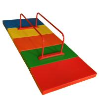 Adjustable Home Childrens Gymnastics Equipment Red Parallel Bars Security Antirust Manufactures