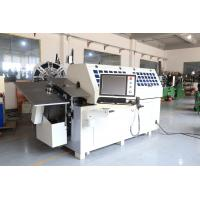 Ten Axes Easy Operation Spring Bending Machine With Platform , High Efficiency Manufactures