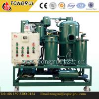 Vacuum Waste Hydraulic Oil recycling plant/ Industial Lubricant Oil Filtration Equipment Manufactures
