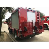 FIAT IVECO 160kW 217hp 2200L / 500L Foam Fire Truck Weight 7800kg Manufactures
