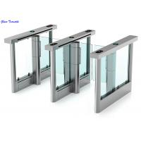 Full Automatic Supermarket Swing Gate High Security Waterproof Intelligent Turnstiles Manufactures