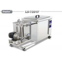 Limplus Single Tank Industrial Ultrasonic Cleaner With Filteration And Skimming Manufactures