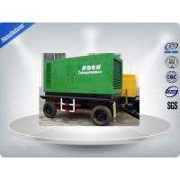 Movable AC Three Phase Trailer Mounted Generator Four Wheels 10-100KVA Manufactures