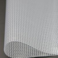 Waterproof transparent clear mesh tarp,pvc net fabric Manufactures