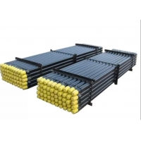 DTH Water Well Drill Rods , Casting Threaded Steel Rod ISO Standard Rock Drill Rods Manufactures