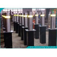 Full - automatic Retractable Hydraulic Bollards Remote Control Road Barriers Manufactures