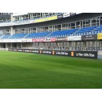 High Brightness Outdoor P10 Perimeter LED Display Full Color For Football Ground Manufactures