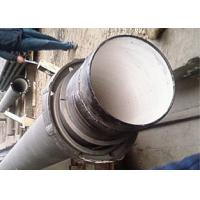 China Waterline Ductile Iron Cement Lined Pipe Dismantling Joint Type Tube on sale
