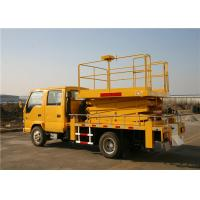 Buy cheap GKS-22Q Four Section Telescoping Work Platform ISUZU Chassis 4x2 Drive from wholesalers