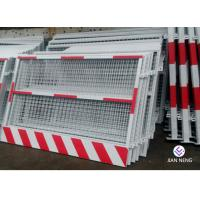 Custom Made Construction Safety Barricade, Temporary Guardrail Systems For Elevator Entrance Manufactures
