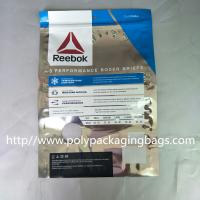 Color Clothing Foil Ziplock Bags Cartilage Seal Plastic Underwear Packaging Bag Manufactures
