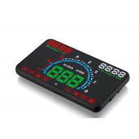 E350 Hud Car Windscreen Display , KM Overspeed Warning Bluetooth Car Heads Up Display Manufactures