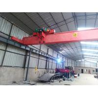 China High Efficiency Single Beam Bridge Crane Electric Wire Rope Hoist Lifting on sale