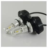 Perfect cutting light LED Headlights Bulbs G7 - 9006 Philips Zes Chips No Fan Manufactures