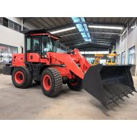 China Deutz 92KW Engine Front End Loader With 1.6m3 Bucket Capacity / Mini Wheel Loader on sale