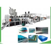 China Transparent Plastic PET Sheet Extrusion Line For Sheet / Board 1220mm Width on sale