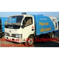 hot sale best price dongfeng RHD 5.5cubic meters dongfeng road sweeper, factory direct sale 95hp diesel street sweeper Manufactures