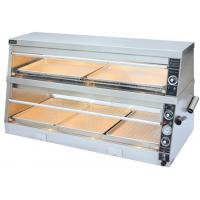 380V/4.2KW Food Warmer Showcase Individual Thermostatic Control 1520x750x840mm Manufactures
