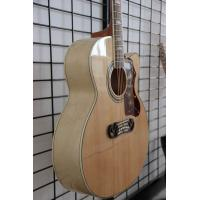Free shipping nature color cutaway J200 acoustic guitar Manufactures