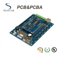 Blind Buried through hole pcb assembly  for Automatic BGA smt pcb board Manufactures