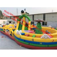 inflatable obstacle for sale  combo bouncy castle inflatable obstacle course Manufactures