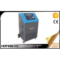 Heavy Duty AC Refrigerant Recovery Machine Charging Device 14400L/ Hour Vacuum Pump Manufactures