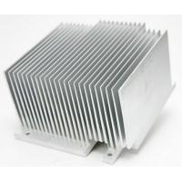 6063 6061 6005 Aluminum Heatsink Extrusion Profiles For Milling Drilling Bending Process Manufactures