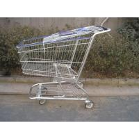 China Professional Supermarket Shopping Trolleys Carts ISO9001 Certification on sale