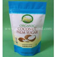 Food grade stand up pouches with zipper and tear notch for food packing Manufactures