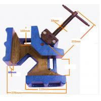 China Cast Iron Woodworking Welding Right Angle Corner Clamp on sale