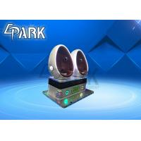 Park Arcade Gaming Machine 9D VR Simulator Amusement Rides 3 Seats Manufactures