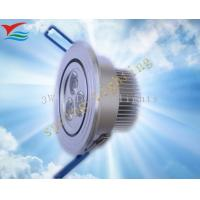 Aluminium 3W 50 - 60HZ IP50 LED down light fixtures for Display Case Lighting Manufactures