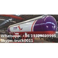 best price ASME standard lpg gas storage tank trailer for sale, China best price road transported propane gas tank Manufactures