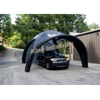Buy cheap Durable Attractive Small Black Inflatable Event Tent for Car Parking from wholesalers