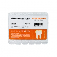 Safety Ss White Rotary Files , Assorted Size Endo Retreatment Files D1 D2 D3 Manufactures