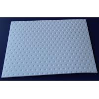 Light Weight PTFE Teflon Sheet , Non-Flammable Black PTFE Slide Bearing