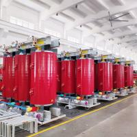 Buy cheap 630kVA Dry Type Power Transformer / Red Dry Cast Resin Transformers from wholesalers
