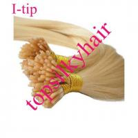 China I-tips Indian Human Hair Extensions on sale