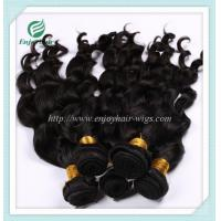 Malaysian 5A virgin hair loose wave weft natural color(can be dye) 10''-26''hair extension Manufactures