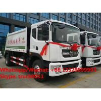 2018s best seller- Euro 5 dongfeng D9 Cummins 180hp 10m3 compacted garbage truck