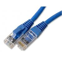 China 4 pair 26AWG FTP / STP / SFTP cat5e patch cables wires with rj45 8p8c on sale