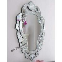Baroque Design Venetian Bevelled Mirror , MDF Back Venetian Floor Mirror Manufactures
